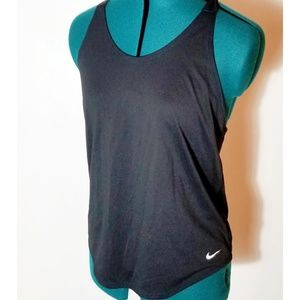 "Nike T-strap Racerback ""Just do It"" Tank, Small"